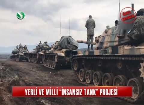"""Yerli Milli """"İnsansız Tank"""" Projesi"""