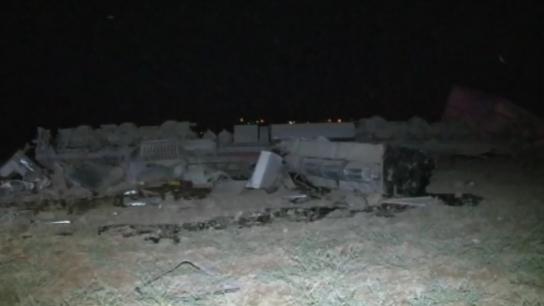 Elazığ'da yük treni devrildi: 2 ölü