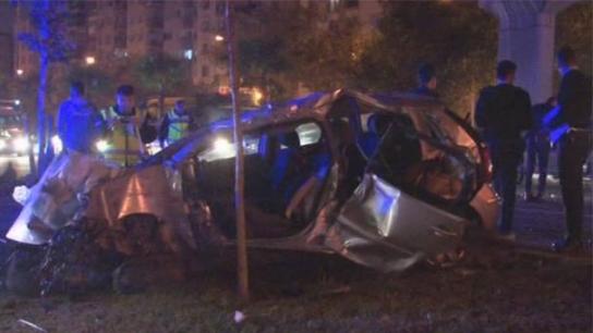 İzmir'de feci kaza! 2 polis şehit , 3 polis ağır yaralı...