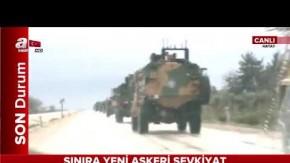 Mehter Marşı ile Afrin'e doğru yola çıktılar
