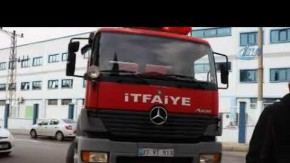 TMSF'ye devredilen fabrikada yangın çıktı