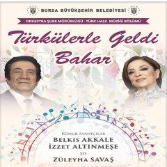 Türkülerle Geldi Bahar-Konser