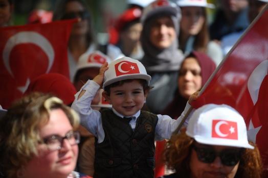 Bursa'da 23 Nisan Ulusal Egemenlik ve Çocuk Bayramı coşkusu
