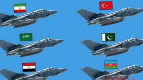 İslam Ordusu#039;nda bulunan 34 ülke ve orduları