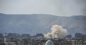 Esed rejiminin Şam'daki muhalif bölgelere saldırıları