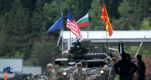 Makedonya'da ortak askeri tatbikat