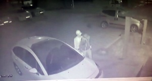 Hırsızlar güvenlik kamerasına yakalandı