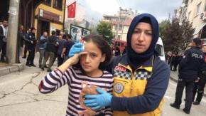 Bursa'da doğalgaz patladı!