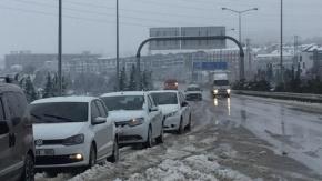 Bursa'da sürücüler 4 saat mahsur kaldı!