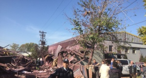 Bursa'da boya fabrikasında patlama