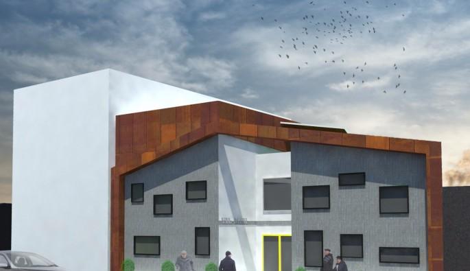 Bursa'ya bir modern mahalle konağı daha