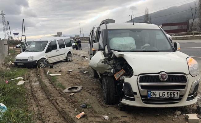 Bursa'da polisler ölümden döndü