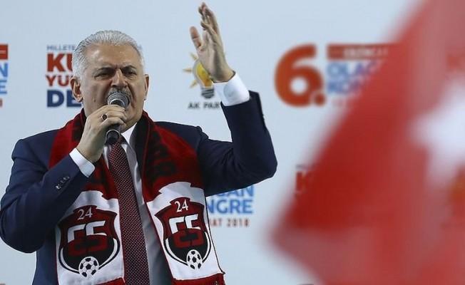 Başbakan Yıldırım'dan ABD'ye tepki