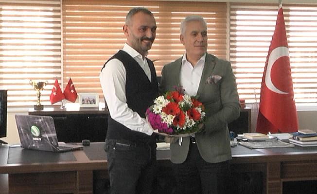 Nilüfer Belediye Başkanı Bozbey'den Sancaktar Medya'ya ziyaret