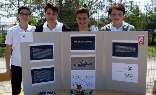 300 liraya 30 dakika havada kalan 'drone' yaptılar