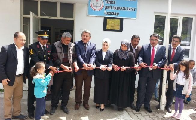 Bursa'da okula şehidin adı verildi