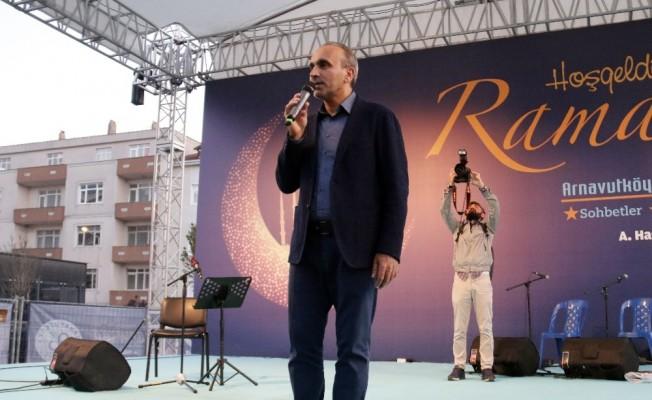 Arnavutköy'de yüzlerce vatandaş iftar sofrasında buluştu