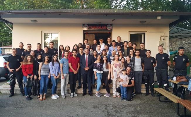 Bursa'da lise öğrencileri motosikletli yunus timi oldu