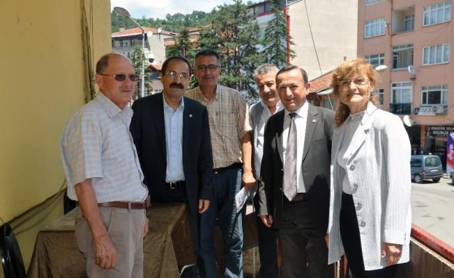 CHP'li vekil adayları Yenice  esnafı ile buluştu