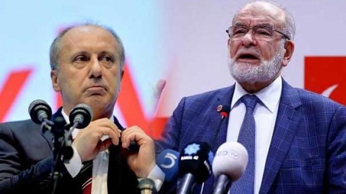 İnce ve Karamollaoğlu'ndan Cumhurbaşkanı Erdoğan'a tebrik