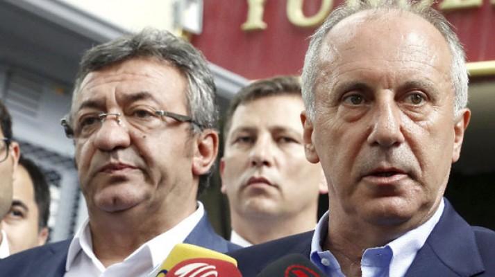Muharrem İnce gece bu mesajı attı : Erdoğan kazandı