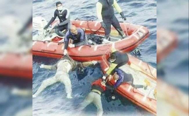 Tunus'ta batan kaçak göçmen gemisindeki ölü sayısı 46'ya yükseldi
