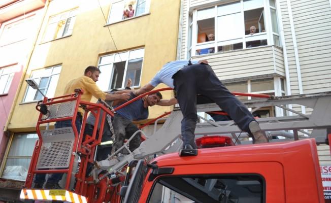 Aksaray'da polis memurunu yaralayan kişi yakalandı