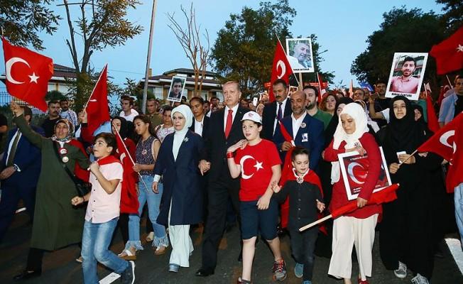 Başkan Erdoğan, İstanbul'daki 15 Temmuz yürüyüşüne katılacak