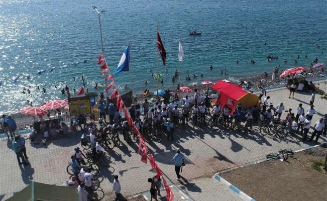 '1. Ulusal Van Denizini Pedallıyoruz' etkinliği