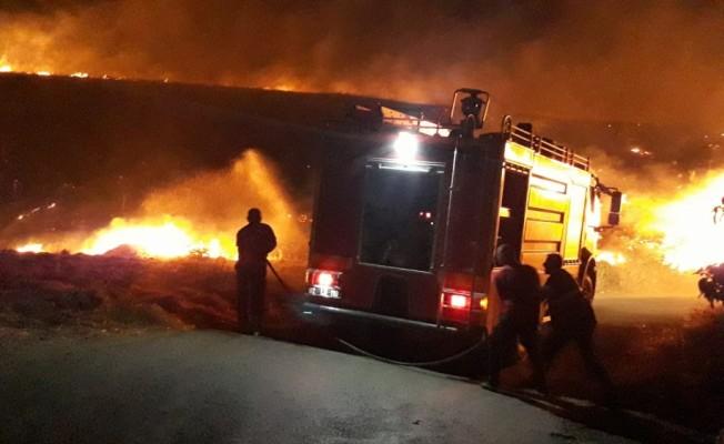 Adıyaman'da anız yangını
