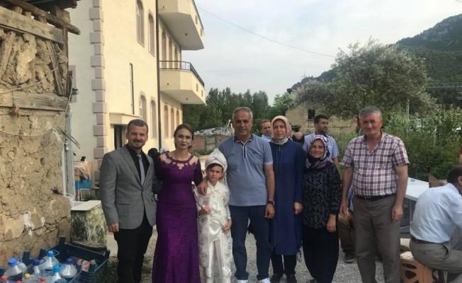 Başkan Yaman, sünnet düğününe katıldı