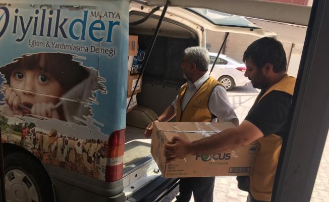 İdlib'e ilaç yardımı