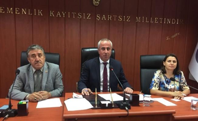 İl genel meclisi Ağustos ayı 4'üncü bileşimi yapıldı