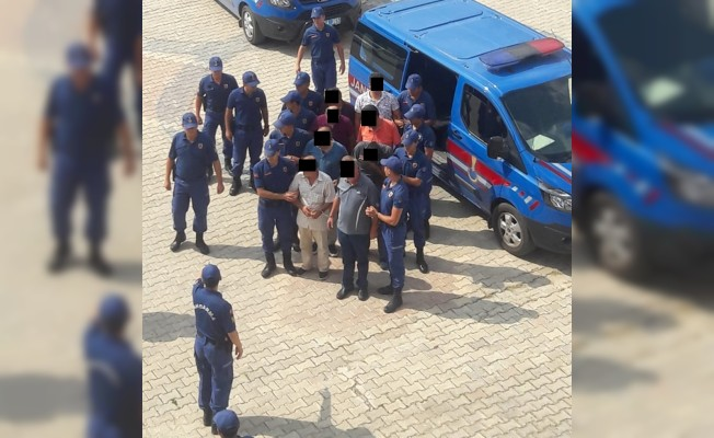 İzinsiz kazıya 16 tutuklama