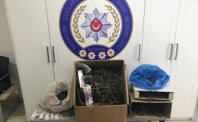 Konya'da uyuşturucu operasyonları