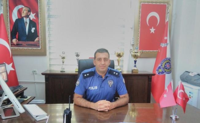 Sason Emniyet Amirliğine Atanan Komiser Sudagezer, göreve başladı