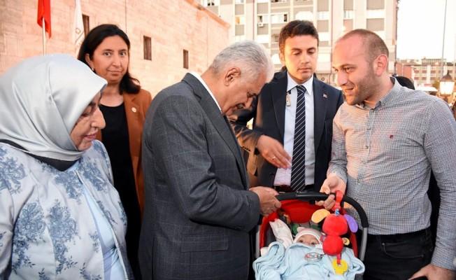 TBMM Başkanı Yıldırım Sivas'ta