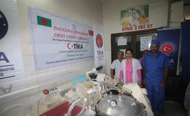 TİKA'dan Bangladeş'e sağlık desteği