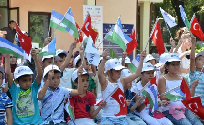 TİKA'nın genç gönüllüleri Özbekistan'da