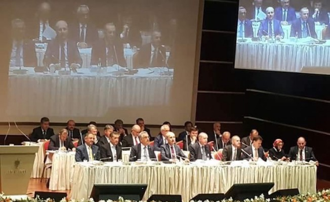 AK Parti Van İl Başkanı kentin sorunlarını Cumhurbaşkanı Erdoğan'a aktardı