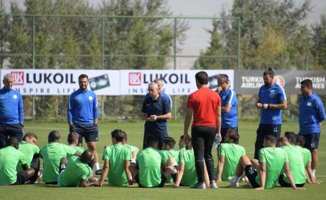 Atiker Konyaspor'da Fenerbahçe maçı hazırlıkları