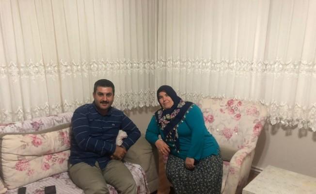 Başkan Uğurlu'dan şehit ailesine ziyaret