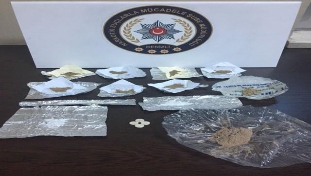 Denizli'de uyuşturucu operasyonlarında 30 kişi tutuklandı