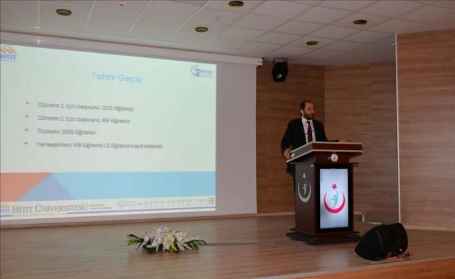 Hitit üniversitesi Rektörü Prof. Dr. Reha Metin Alkan;