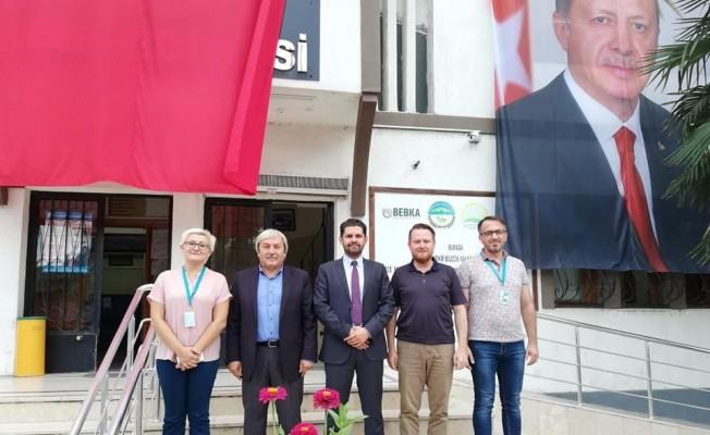 İl Sağlık Müdürü Öztop'tan Osmaneli'ne ziyaret