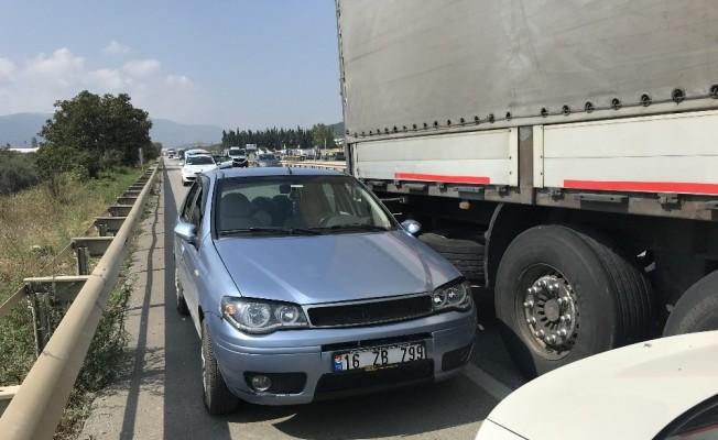 Kılıçdaroğlu'nun koruma ekibi Bursa'da ölümden döndü