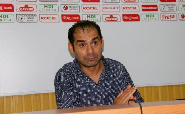 """Metin Diyadin: """"Gereksiz bir penaltı pozisyonuyla mağlup duruma düştük"""""""