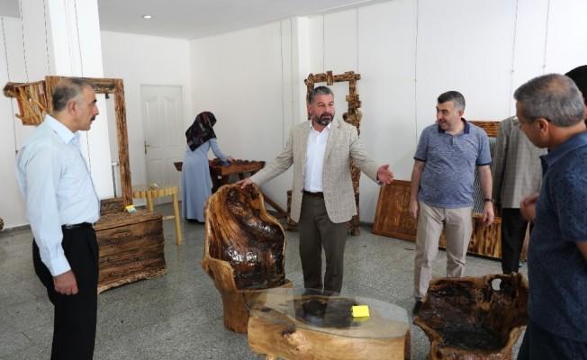 Şanlıurfa'a ağaç ve ahşap sanatı sergisi