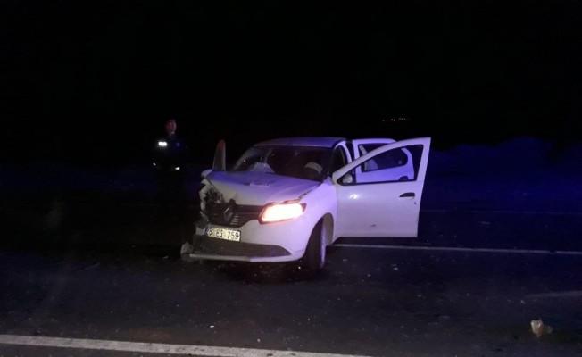 Sarıkamış'ta trafik kazası: 1'i ağır 4 yaralı