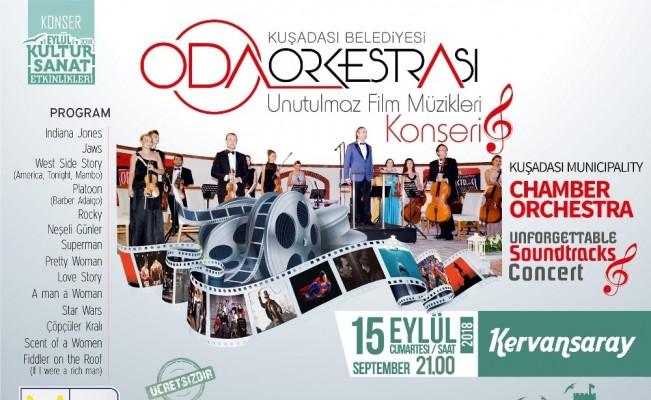 Unutulmaz film müzikleri konseri Kervansaray'da yapılacak